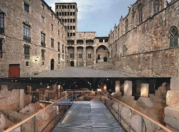 Barcelonas historiska museum.